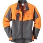 Куртка ECONOMY PLUS, Антрацит-оранжевый, размер L