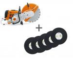 Бензорез Stihl TS 800 + десять абразивных кругов 400х4 мм в подарок!