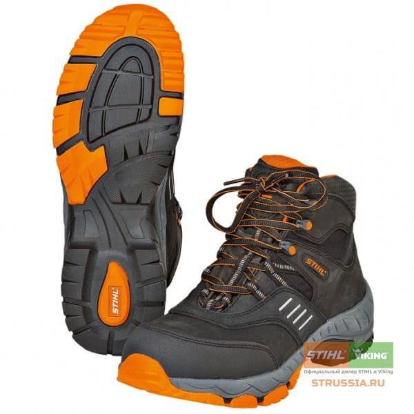 Защитные ботинки на шнуровке Stihl WORKER, размер 41